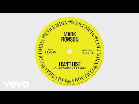 I Can't Lose (Duke Dumont Remix)