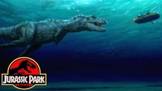Why The River Raft Scene Was Cut From Jurassic Park - Jurassic Park Deleted Scenes
