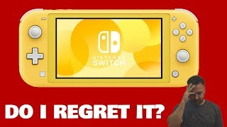 NINTENDO SWITCH LITE REVIEW, After 1 MONTH of exclusively Gaming on it do I regret buying it?