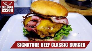 REZEPT: SIGNATURE CLASSIC BEEF BURGER von MCDONALDS - schnell und einfach selber machen!