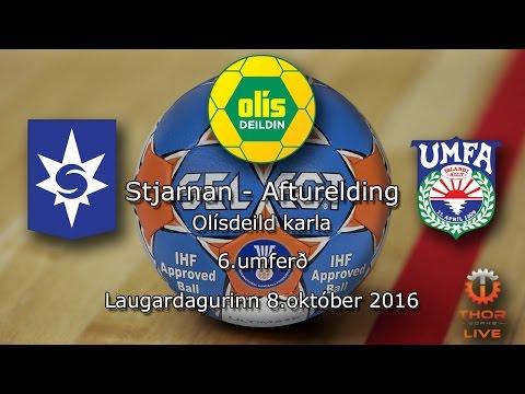 Stjarnan - Afturelding | Olísdeild karla 2016-2017 | 8.okt.2016 | 6.umferð