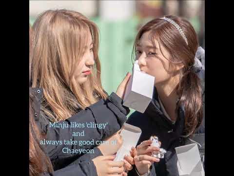 Lee Chaeyeon 이채연 & Kim Minjoo 김민주 (IZ*ONE) - Unnie, you'll always be my 'Hero'