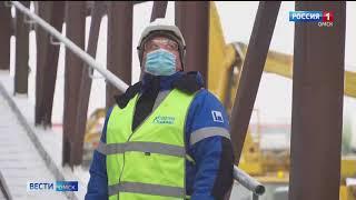На Омском НПЗ «Газпром нефти» приступили к испытаниям оборудования будущего комплекса замедленного коксования