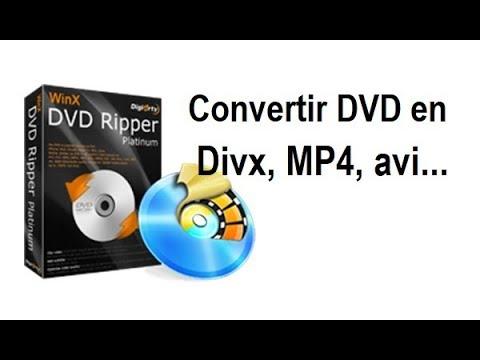 Convertir un DVD en MP4