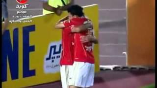 اهداف مباراة الاهلى والمقاولون الاسبوع ال29 5 1 هدف الاهلى الرابع جدو