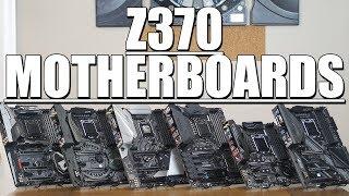 Z370 Motherboard Roundup!