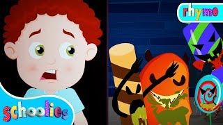 Halloween Candy | Nursery Rhymes For Toddler Fun Videos For Children Schoolies