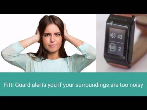 Fitti Guard GPS-Fitnessuhr - Kickstarter-Kampagne