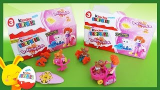 Kinder Surprises Infinimix Fille - Oeufs surprises - Touni Toys
