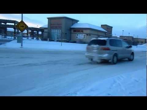 Winter in Calgary, Alberta Canada with -22c  /  -13 F