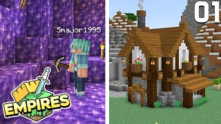 A Whole New World! - Minecraft Empires SMP - Ep.01
