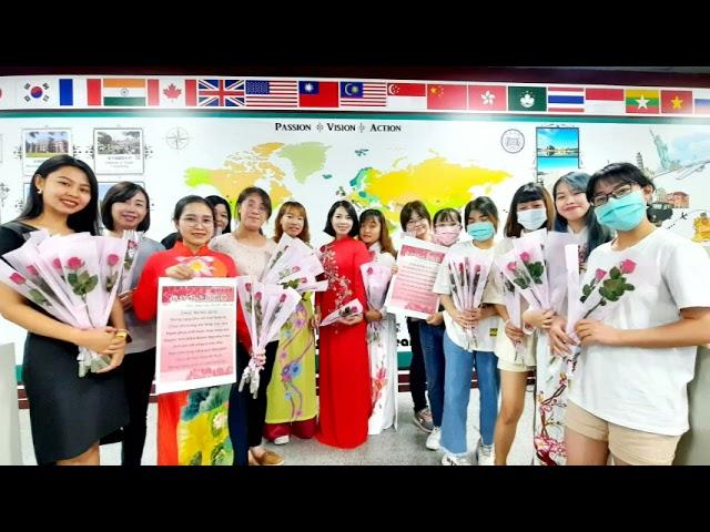 明道大學國際生辦東南亞文化日 慶祝伊斯蘭教聖紀節及越南婦女節