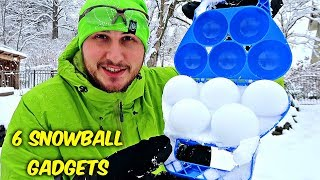 6 Snowball Gadgets put to the Test