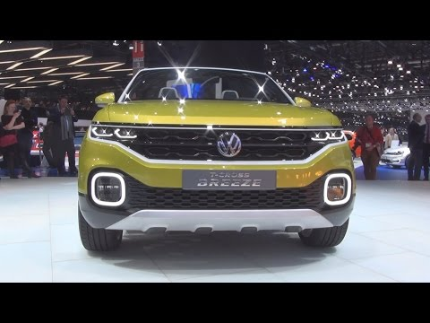 Volkswagen T-Cross Breeze Concept (2016) Exterior and Interior in 3D