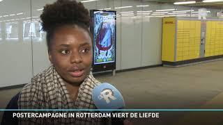Postercampagne moet Rotterdammers de liefde laten vieren
