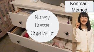 HOW TO ORGANIZE BABY CLOTHES USING KONMARI METHOD   ORGANIZE WITH ME 2019