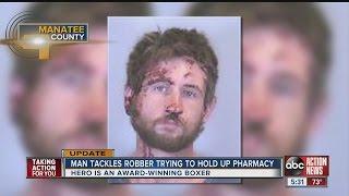 Man knocks out would-be robber at Walgreens