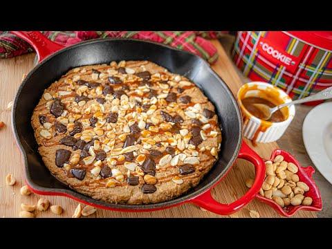 Готовьте с детьми! ГИГАНТСКОЕ ПЕЧЕНЬЕ в сковороде | простой рецепт Giant Skillet Cookie