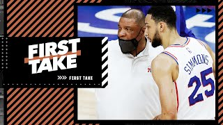 Scottie Pippen says Doc Rivers set up Ben Simmons for failure. Stephen A. reacts   First Take