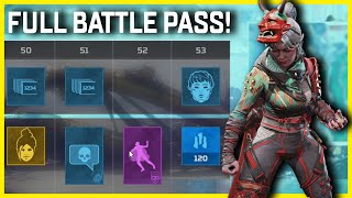 All Legacy Battle Pass Rewards In Apex Legends Season 9