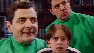 BARBER Bean   Mr Bean Full Episodes   Mr Bean Official