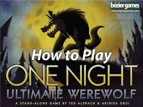 Bézier Games One Night Ultimate Werewolf