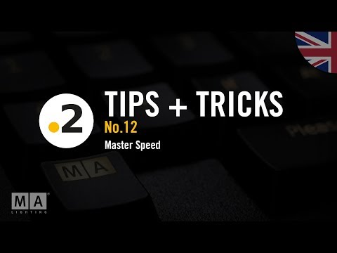 dot2 tips and tricks No12 Master Speed