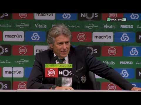 Conferência Jorge Jesus - Pós-Jogo - Sporting CP 3 X Moreirense 0