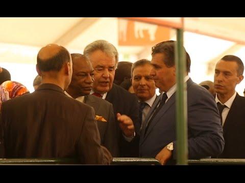 أخنوش و الرئيس الغيني في افتتاح معرض الفلاحة بمكناس