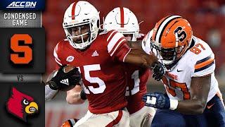 Syracuse vs. Louisville Condensed Game | 2020 ACC Football