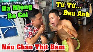Anh Đức Nấu Nồi Cháo Thịt Bằm Qua Thăm Anh Quang - Thạc Đức Vlog