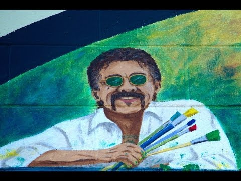 Baixar FranCisco Vargas, Unveiling Of The Largest Painted Mural Stamp In The USA