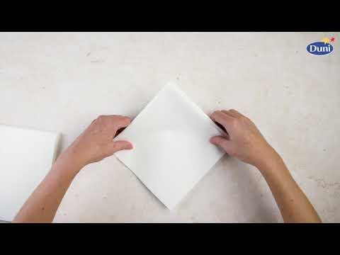 Napkin Folding Linnea