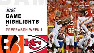 Bengals vs. Chiefs Preseason Week 1 Highlights | NFL 2019