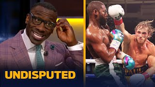 Skip & Shannon react to Logan Paul going the distance with Floyd Mayweather | UNDISPUTED