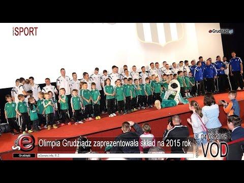 Olimpia Grudziądz zaprezentowała skład na 2015 rok
