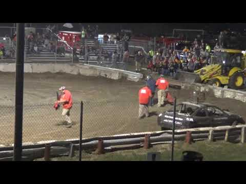 USA Figure Eight Championship 2018 (FWD cars) (B main) Munger,Michigan)
