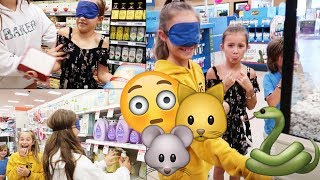 Buying EVERYTHING I touch Blindfold Challenge! Its R Life
