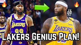 Los Angeles Lakers GENIUS Plan For DeMarcus Cousins After Markieff Morris Signing! | GM LeBron & AD!