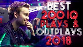 BEST 200 IQ Plays & Outplays of 2018 - Dota 2 - YouTube
