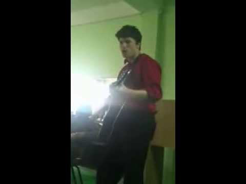 Guitar Player in Russia