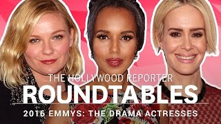 THR's Full, Uncensored, Drama Actress Emmy Roundtable with Jennifer Lopez, Sarah Paulson and More