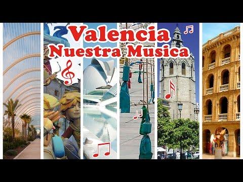 VALENCIA NUESTRA MUSICA (Musica Fallera Valenciana, Pasodobles Clasicos y Pasacalles) Fiestas