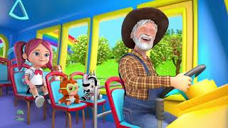 Nursery Rhyme : Wheels on the bus for kids