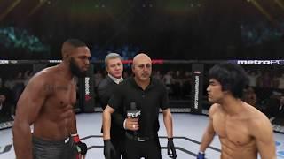 Jon Jones vs. Bruce Lee (EA Sports UFC 3) - CPU vs. CPU
