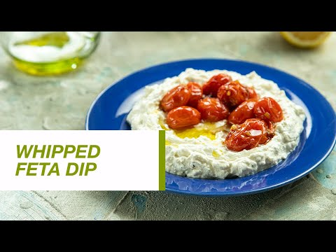 Whipped Feta Dip with Roasted Cherry Tomatoes | Food Channel L Recipes