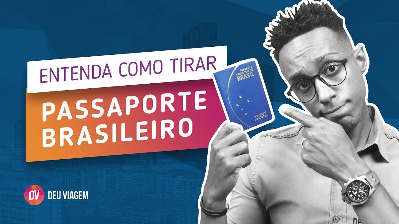 Passaporte brasileiro, entenda como tirar.