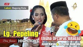 Elisha Orcarus Allasso - Lg. Pepéling (Bersama Abah Kirun & Ki Seno Nugroho)
