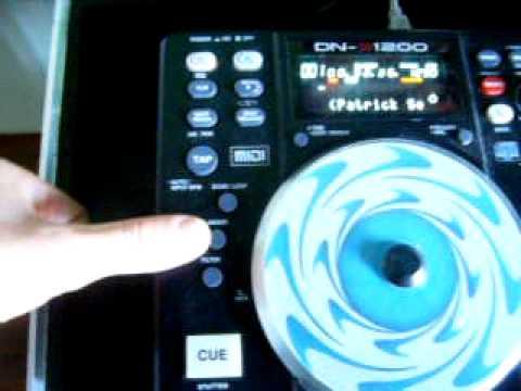 Denon 1200 con virtual dj