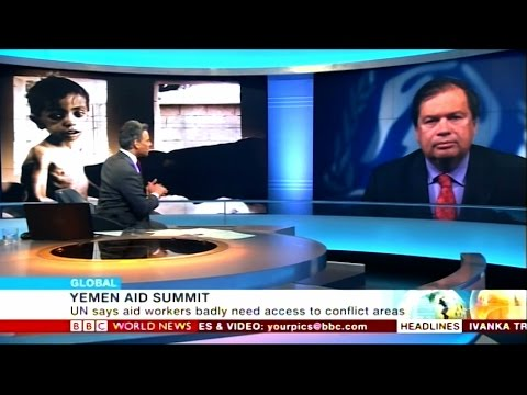BBC interviews UNHCR's William Spindler on Yemen